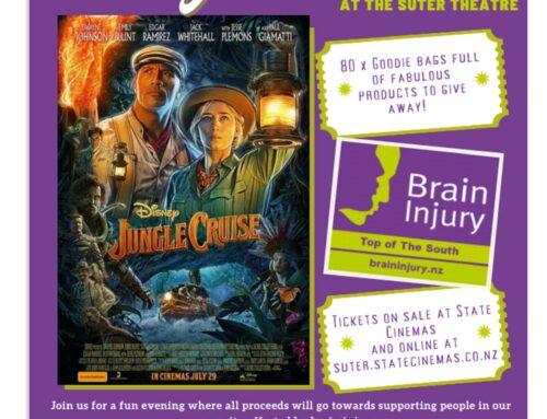 Brain Injury – Movie Night Fundraiser